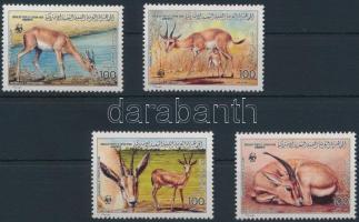 WWF: Gazella sor, WWF: Gazelle set
