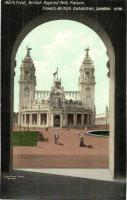 1908 London, Franco-British Exhibition, British Applied Arts Palace north front