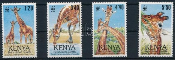 WWF: Reticulated giraffe set, WWF: Recés zsiráf sor