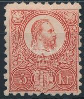 1871 Réznyomat 5kr eredeti gumival, falcos (27.500) / with original gum, hinged. Signed: Georg Bühler
