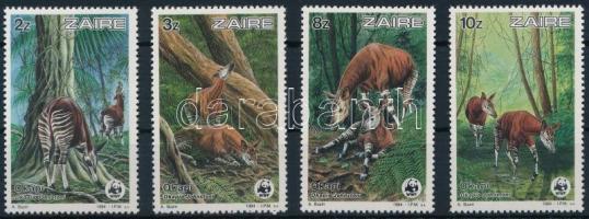1984 WWF: Okapi sor Mi 875-878