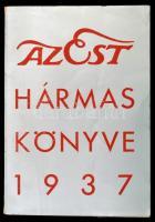 1937 Az Est hármas könyve 1937. Bp, Est Lapkiadó. Kiadói papírkötésben, jó állapotban