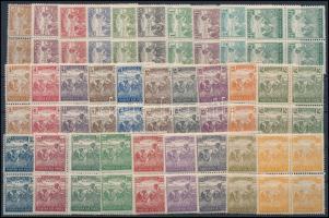 1920 Arató sor négyestömbökben nagyon szép minőségben (36.000)