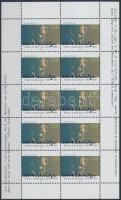 100th anniversary of Albert Schweitzer's birth minisheet, Albert Schweitzer születésének évfordulója kisív