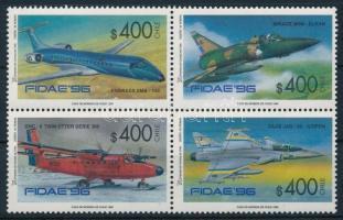 Aeroplanes block of four, Repülő négyestömb