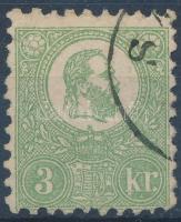 1871 Nagyon jó állapotú Kőnyomat 3kr (140.000)