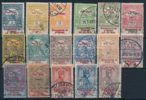 1914 Hadisegély (I.) teljes sor (15.000)