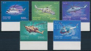 1997 50 éves a helikoptergyártás ívszéli sor Mi 586-590