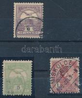 1900 Turul 4f, 5f, 1 K 11 1/2 fogazással
