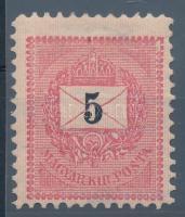 1889 5kr 11 1/2 fogazással RR! (30.000)