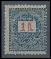 1889 1Ft elektrotip 12 : 11 3/4 fogazással (90.000)