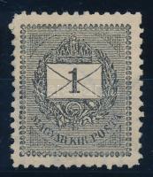1898 1kr 11 1/2 fogazással, luxus darab RR! (18.000)
