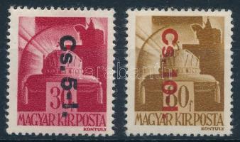 1946 Betűs Cs.5.I. és Cs.10.I. (16.000)