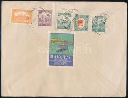 1922 Légi levél Párizsba