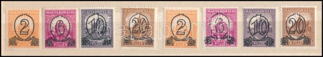 1931 Kisegítő 501-504 A + B (36.500)