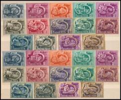 1950-1951 Ötéves terv I-II sorok (42.000)