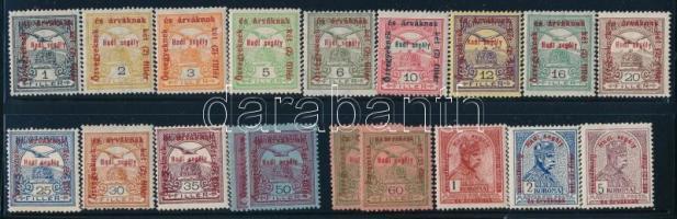 1915 Hadisegély sor (12.000)