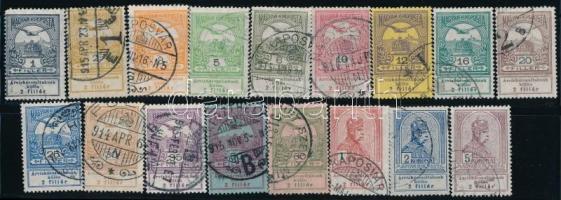 1913 Árvíz sor (15.000)