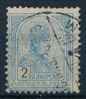 1904 Turul 2 K (17.500) (foghibák/short perfs)