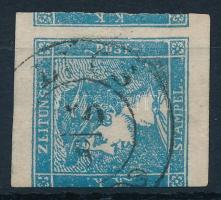 1851 Hírlapbélyeg ,,LŐCS(E)