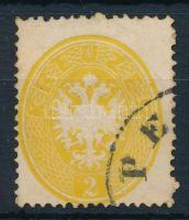 1863 2kr ,,PE(STH) (14.500)