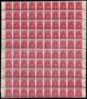 1943 Templom (III.) sor hajtott 100-as ívekben (40.000)