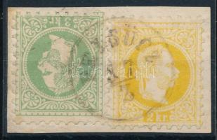1867 2kr + 3kr PELSÜCZ