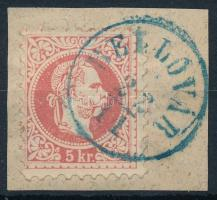 1867 5kr kék BELLOVÁR