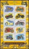 2002 Motorkerékpárok kisív Mi 3645-3654