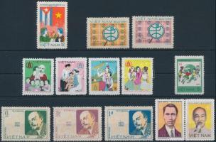1979-1980 4 db klf sor + 2 bélyeg