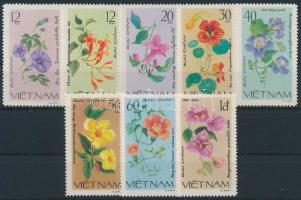 1980 Virágok sor Mi 1137-1144