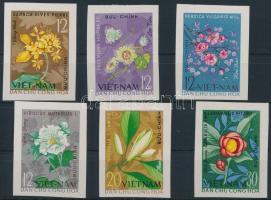 1964 Virágok vágott sor Mi 301-306 U