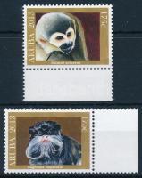 Fauna 2 margin stamps, Állatvilág sor 2 ívszéli értéke