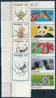 Animals 1987-1992 2 sets, Állat motívum 1987-1992 2 klf sor