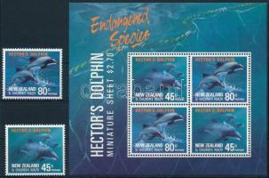 Dolphins set + block Delfin sor + blokk