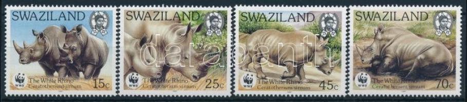 WWF White rhinoceros set, WWF: Fehér orrszarvú sor