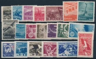4 sets + 2 stamps, 4 klf sor + 2 klf önálló érték