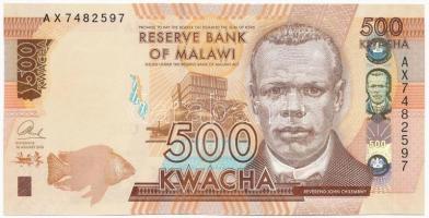 Malawi 2014. 500K T:I Malawi 2014. 500 Kwacha C:UNC