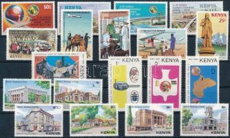 1979-1980 8 sets + 1 stamp, 1979-1980 8 klf sor és 1 önálló érték 2 stecklapon
