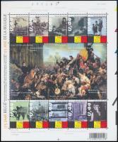 History mini sheet, Történelem kisív
