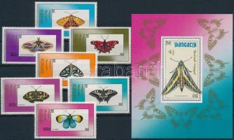 Butterfly set + block, Lepke sor + blokk