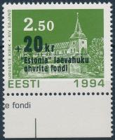Estonia ferry margin set, Estonia komp ívszéli bélyeg