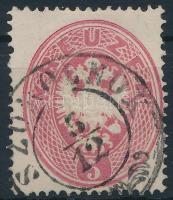 1863 5kr SZOMOLNOK (Gudlin 200 pont)