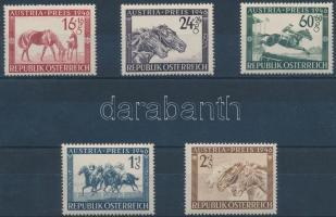 1946 Lóverseny sor Mi 785-789