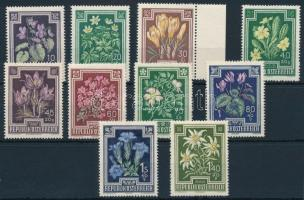 1948 Virág sor Mi 868-877