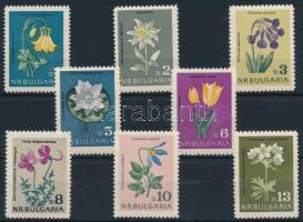 1963 Virágok sor Mi 1407-1414
