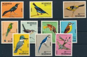 Bird set, Madár sor