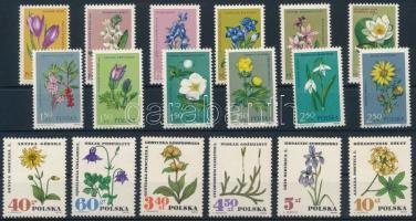 1962 + 1967 2 klf Virág sor Mi 1325 - 1336 + Mi 1770 - 1775