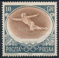 1956 Olimpia 10gr eltolódott középrésszel