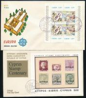 1961-1982 3 FDC, 1961-1982 3 klf FDC